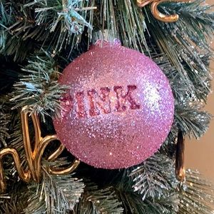 PINK fixture Holiday tree ornament